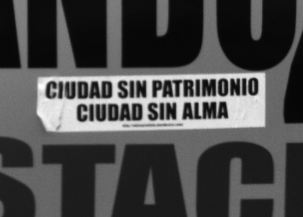 """""""A city without heritage is a city without a soul."""" (Excerpted image from Criado-Boado and Barreiro, 2013.)"""