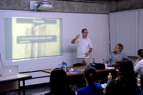 The first MDU/UFPE mini course. (Photo by Aristoteles Cantalice.)